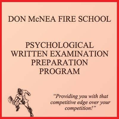 Psychological written Examination preparation program.