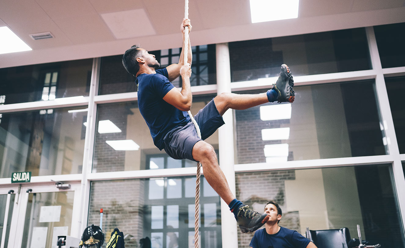 Physical agility in becoming a firefighter